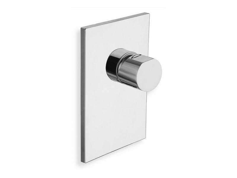 Chrome-plated single handle shower mixer MODUL | Shower mixer - CRISTINA Rubinetterie