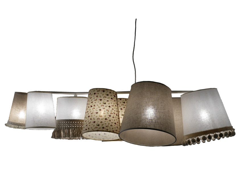 Fabric pendant lamp MARGÒ | Pendant lamp - Karman
