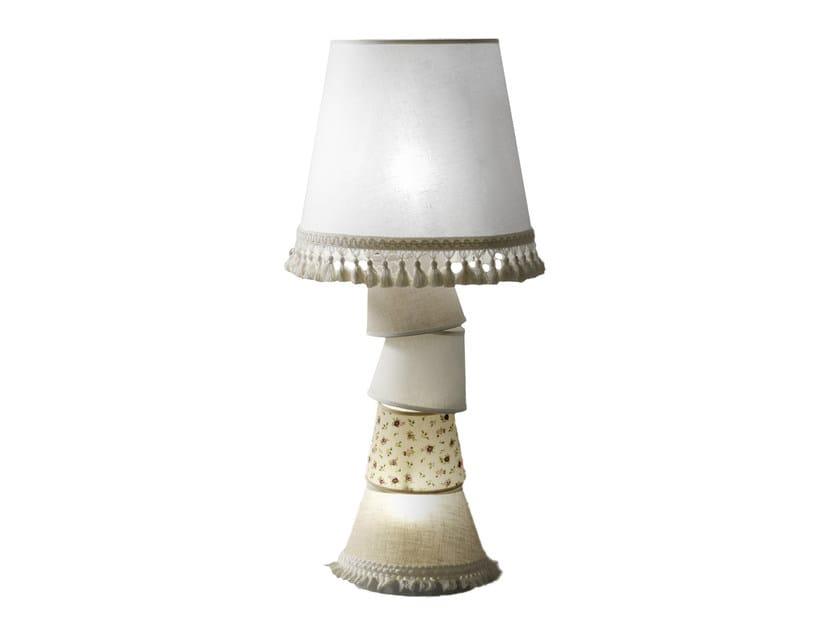 Fabric table lamp MARGÒ | Table lamp - Karman