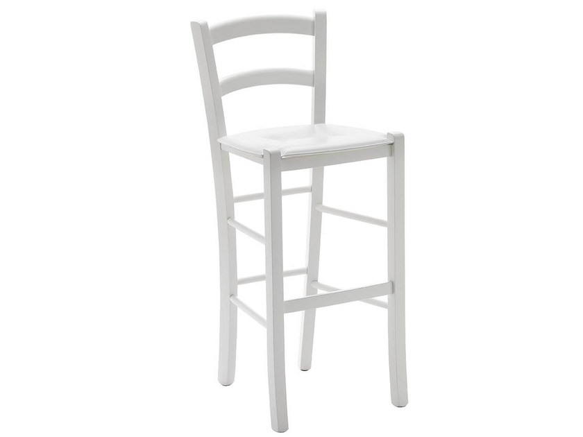 High wooden barstool GIUDECCA | High stool - Midj