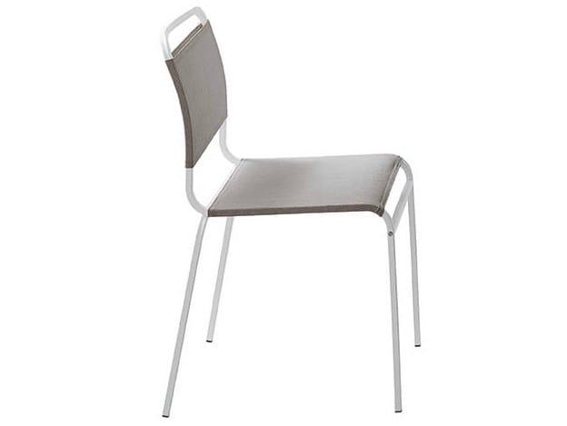 Stackable aluminium chair MURPHY - Midj