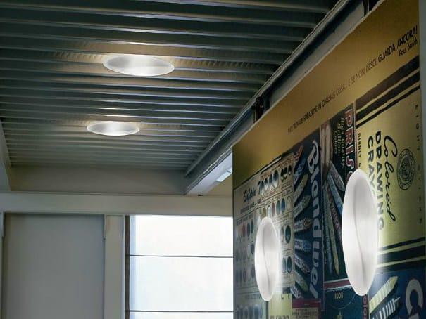 Blown glass wall lamp / ceiling lamp TRACK | Wall light - PANZERI