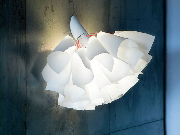 Japanese paper wall lamp TUTU | Wall lamp - PANZERI