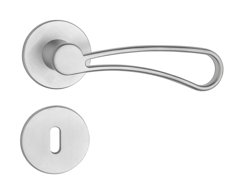 Design brass door handle C176 - BARICO'   Door handle - Enrico Cassina