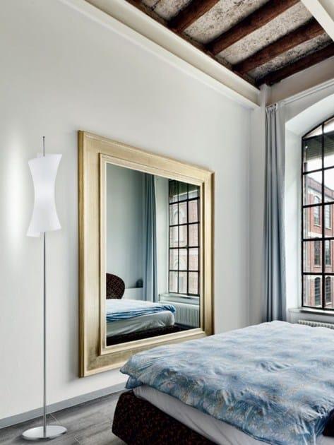 Blown glass floor lamp TWISTER | Floor lamp - PANZERI