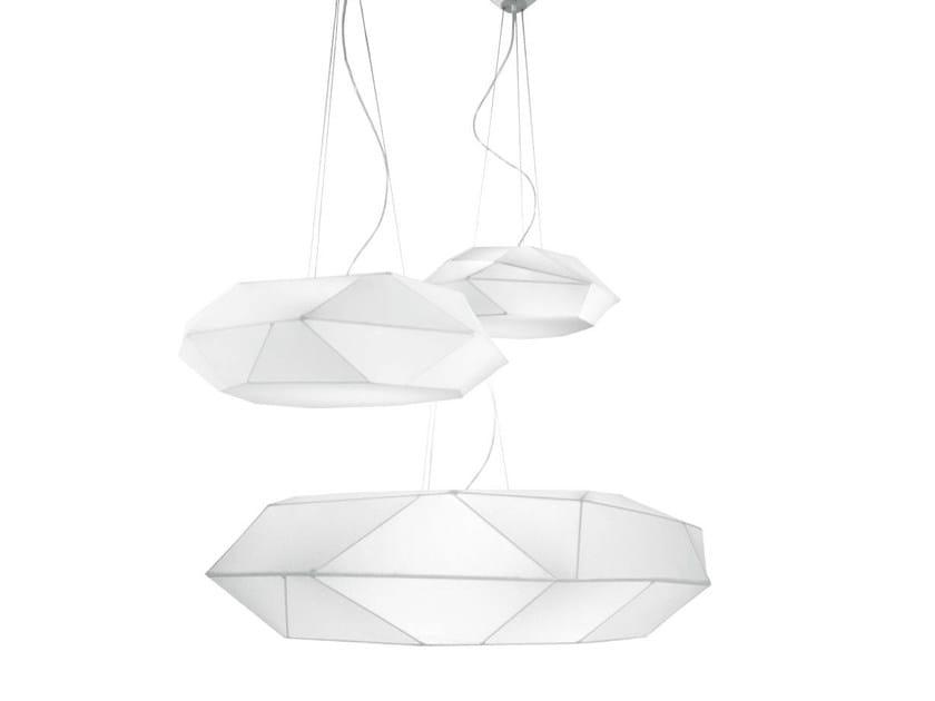 Fabric pendant lamp VIKI | Pendant lamp - PANZERI