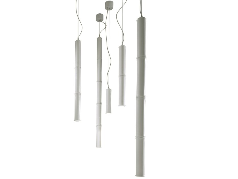LED modular ceramic pendant lamp WOOD | Pendant lamp - Karman