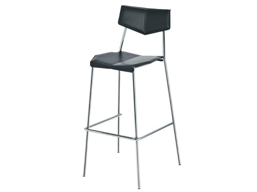tabouret haut de bar empilable collection lisa by midj design studio simonetti massimo simonetti. Black Bedroom Furniture Sets. Home Design Ideas