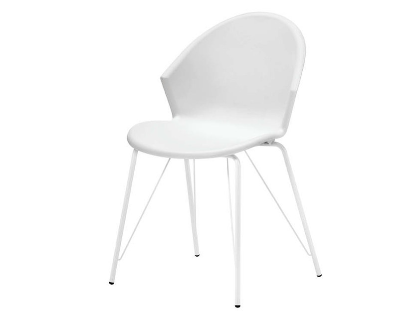 Stackable polypropylene chair CITY | Stackable chair - Midj