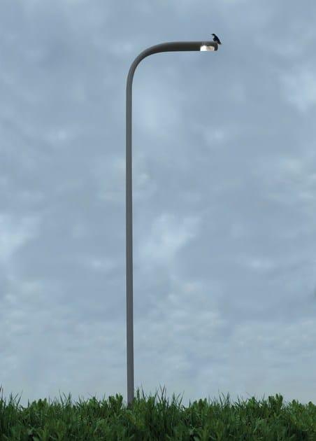 Lampione stradale a led in alluminio indicta artemide for Illuminazione stradale led