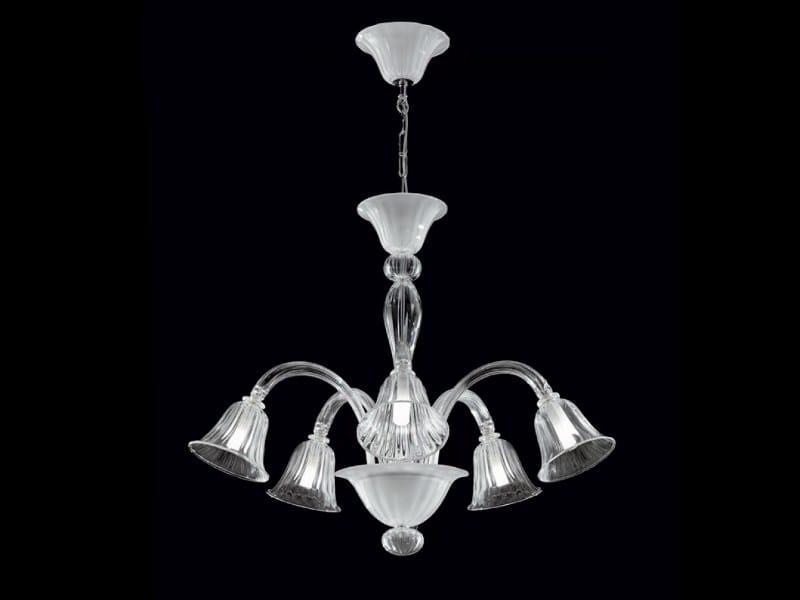 Murano glass pendant lamp LOUVRE | Pendant lamp - PANZERI