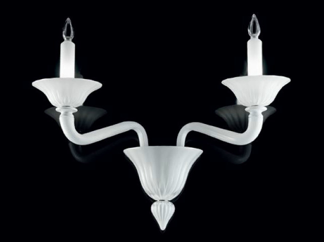 Murano glass wall lamp PUŠKIN | Wall lamp by PANZERI