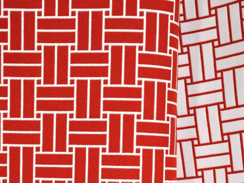 Trevira® CS fabric with graphic pattern REVERSO by LELIEVRE
