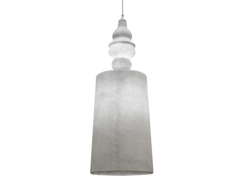 Fiberglass pendant lamp ALIBABIG | Pendant lamp - Karman