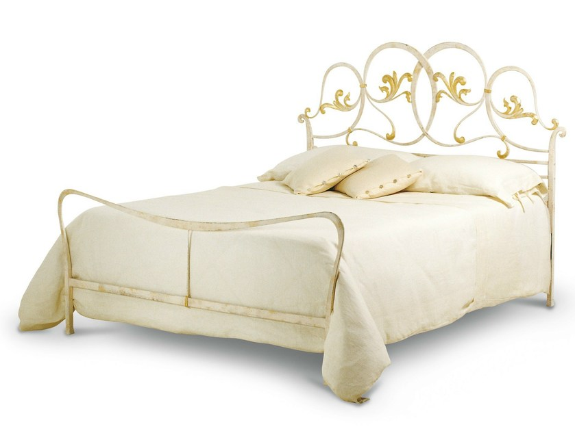 Iron double bed ORLANDO | Double bed - Cantori