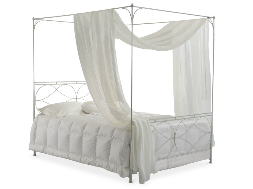 Iron canopy bed RAPHAEL | Canopy bed - Cantori