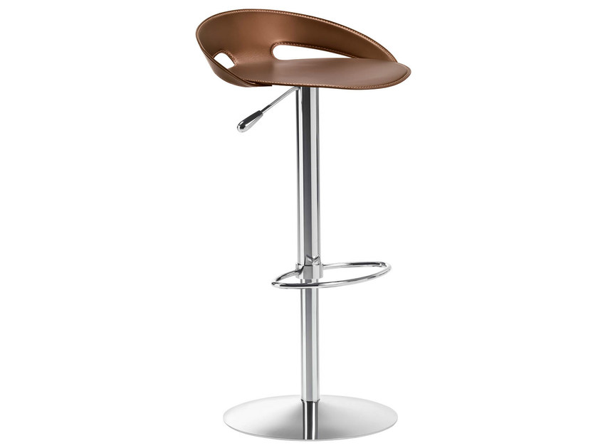Height-adjustable high barstool JOHN - Midj