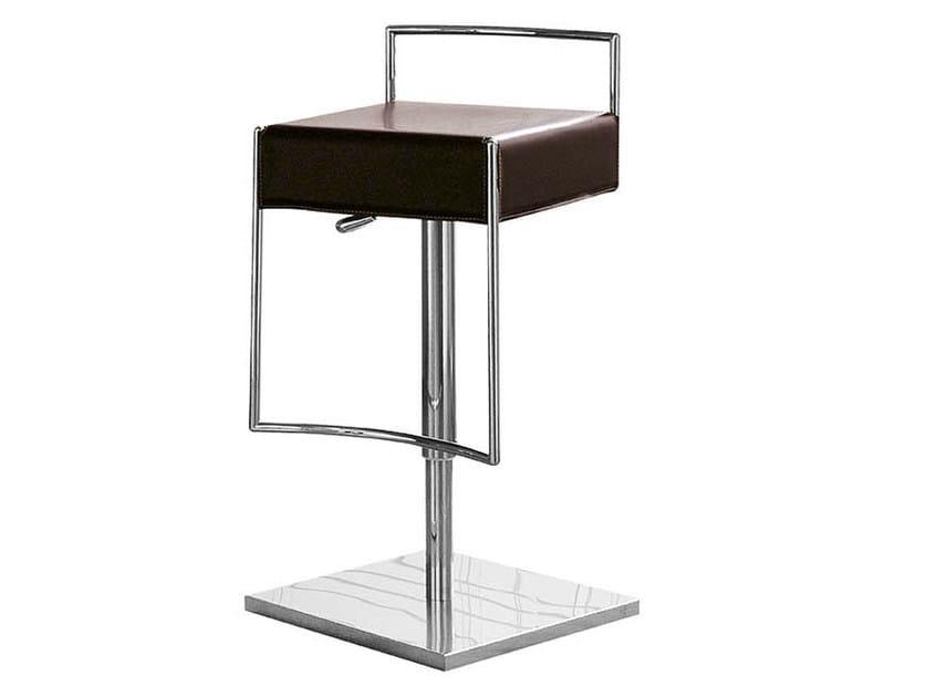 High upholstered barstool MARK | Swivel stool - Midj