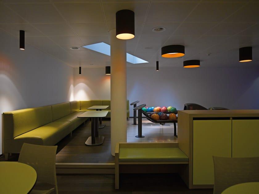 lampada da soffitto a led in alluminio tagora lampada da soffitto artemide. Black Bedroom Furniture Sets. Home Design Ideas