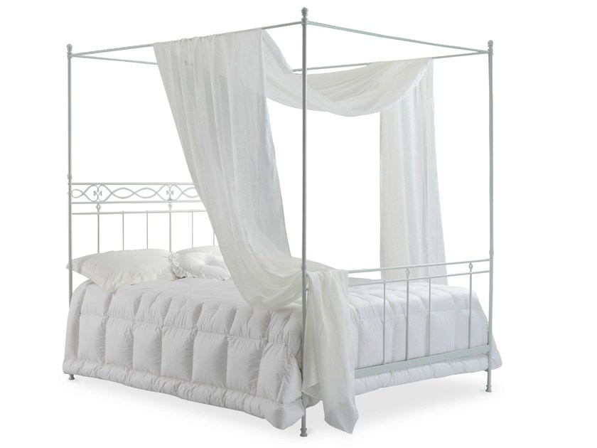 Iron canopy bed SIROLO | Canopy bed - Cantori