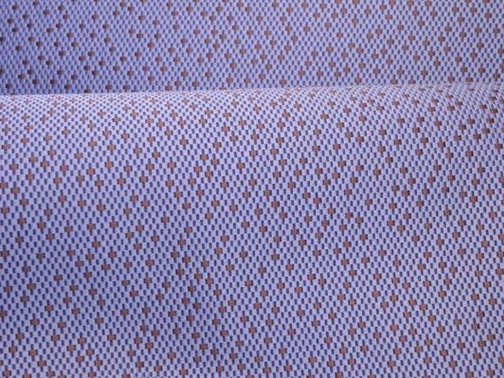 Dotted cotton fabric FACETTE by LELIEVRE
