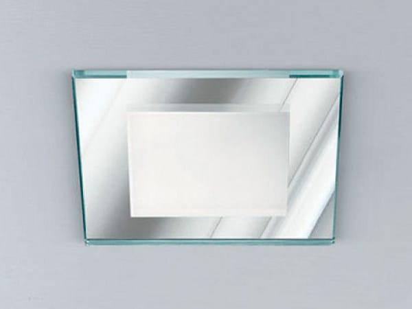 Ceiling recessed etched glass spotlight XSV2008 | Spotlight - PANZERI