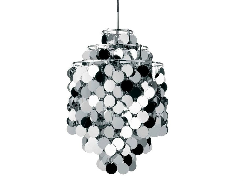 Direct-indirect light pendant lamp FUN 1DA - Verpan