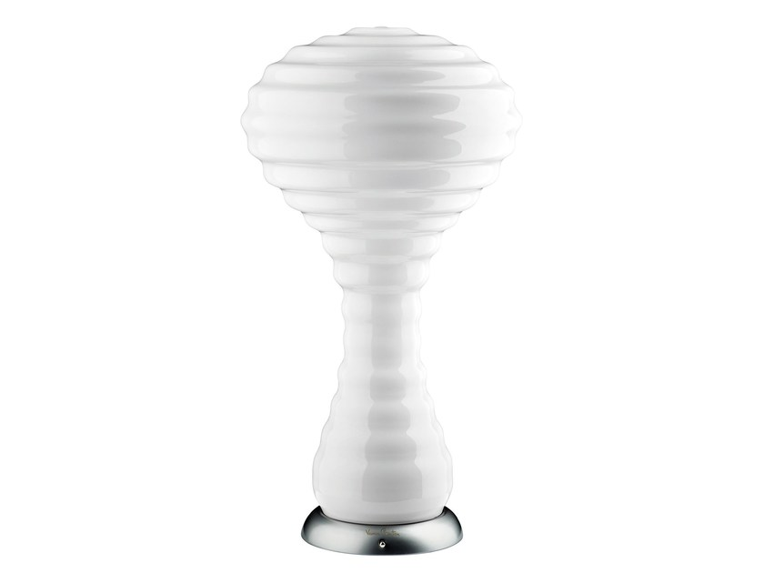 Indirect light opal glass table lamp NEW WAVE - Verpan