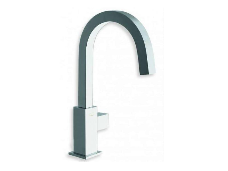 Countertop washbasin mixer QUADRI | Washbasin mixer by CRISTINA