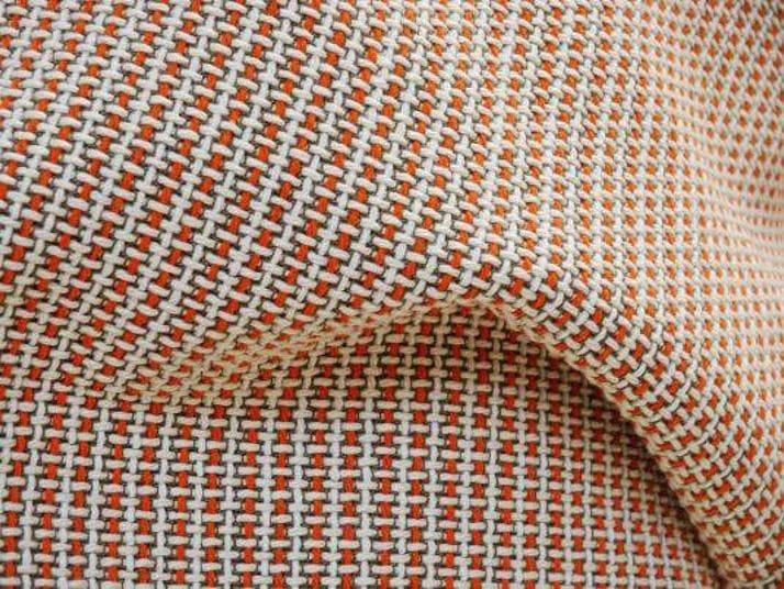 Pique cotton fabric CROSS by LELIEVRE