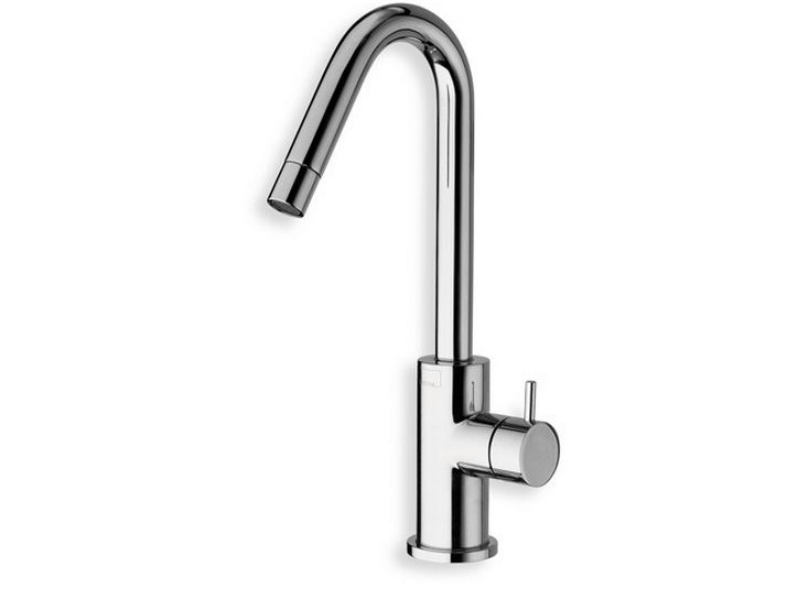 Countertop washbasin mixer TRICOLORE VERDE | 1 hole washbasin mixer - CRISTINA Rubinetterie