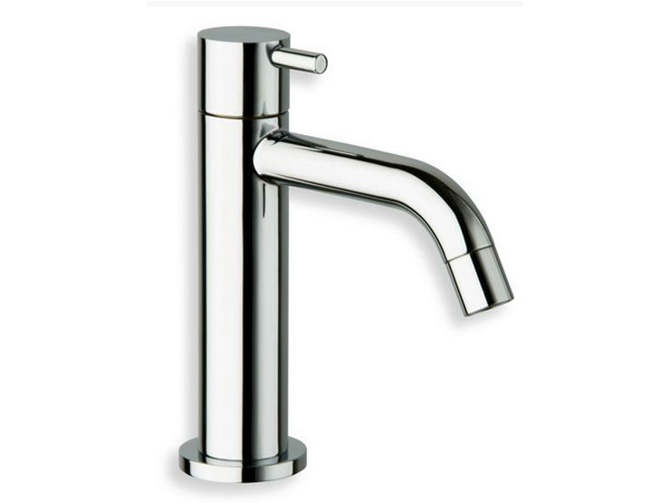 Chrome-plated countertop single handle washbasin tap TRICOLORE VERDE | Washbasin tap - CRISTINA Rubinetterie