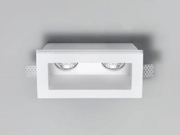 Invisible gypsum spotlight XGQ1004-2 | Spotlight - PANZERI