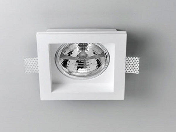 Invisible gypsum spotlight XGQ1007 | Spotlight - PANZERI