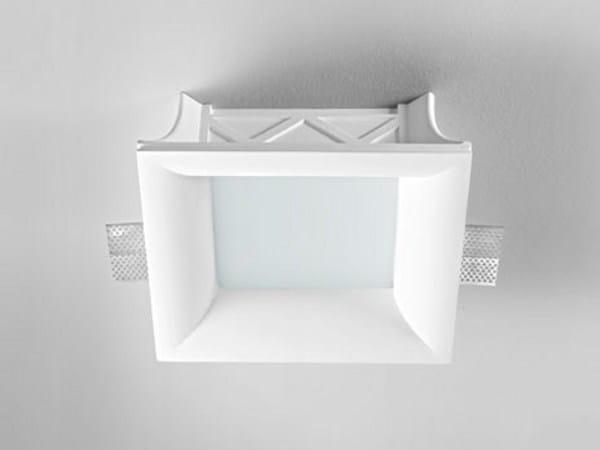 Invisible gypsum spotlight XGQ1017 | Spotlight - PANZERI