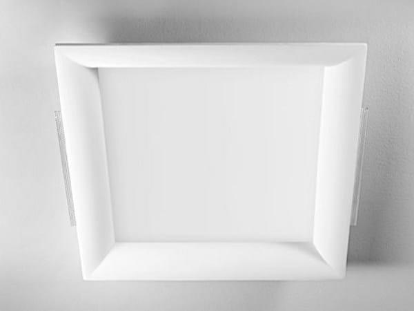 Invisible recessed gypsum spotlight XGQ1018 | Spotlight - PANZERI