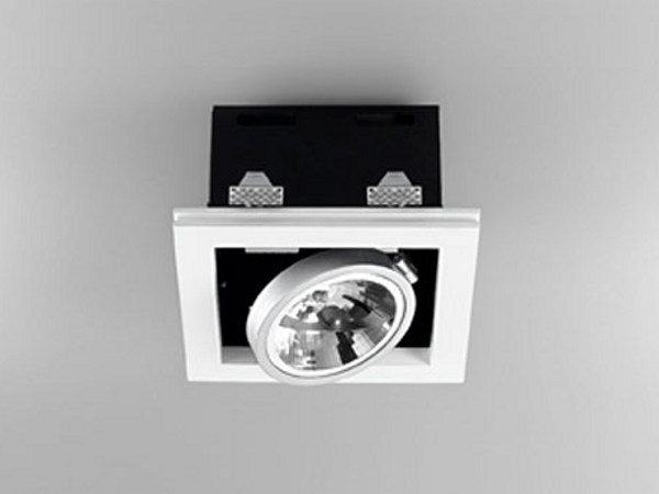 Adjustable recessed gypsum spotlight XGQ1034-1   Spotlight - PANZERI