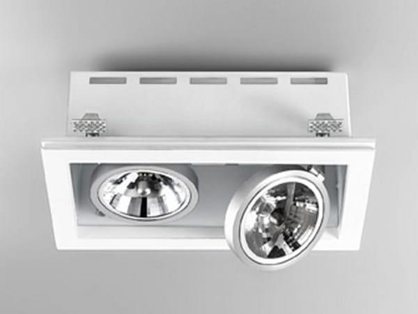 Direct light adjustable built-in lamp for false ceiling XGQ1034-2 | Built-in lamp - PANZERI