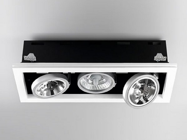 Multiple adjustable recessed spotlight XGQ1034-3 | Spotlight by PANZERI