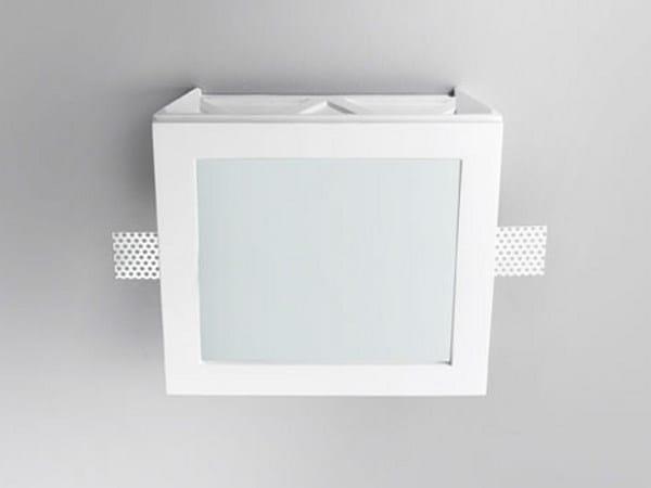 Invisible gypsum spotlight XGQ1205 | Spotlight - PANZERI
