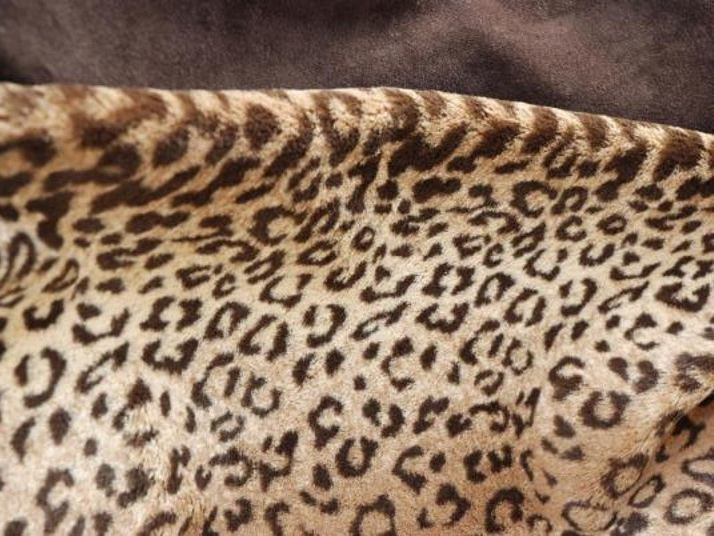 Animalier washable upholstery fabric PANTHERE - LELIEVRE