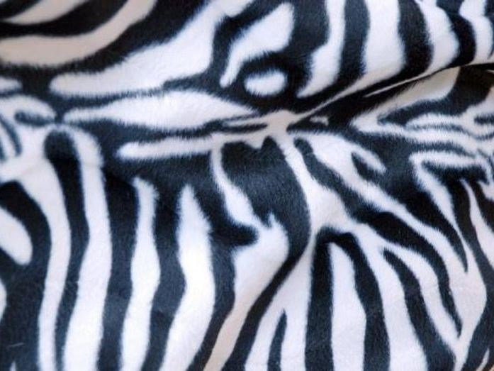 Animalier polyester fabric THERIA by LELIEVRE