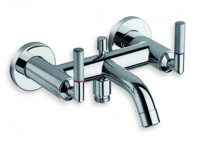 Wall-mounted chrome-plated bathtub tap PICCHE ELITE | Chrome-plated bathtub tap - CRISTINA Rubinetterie