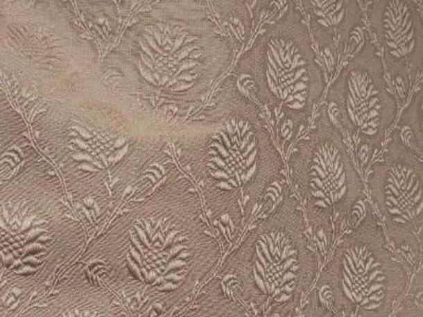 Louis XVI damask fabric POMME DE PIN - LELIEVRE