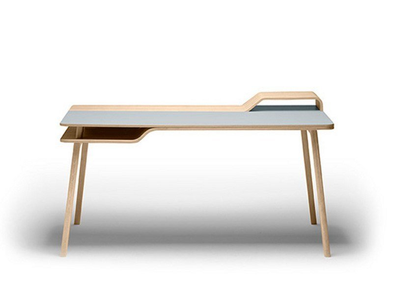 Wooden writing desk BELHARRA - TREKU