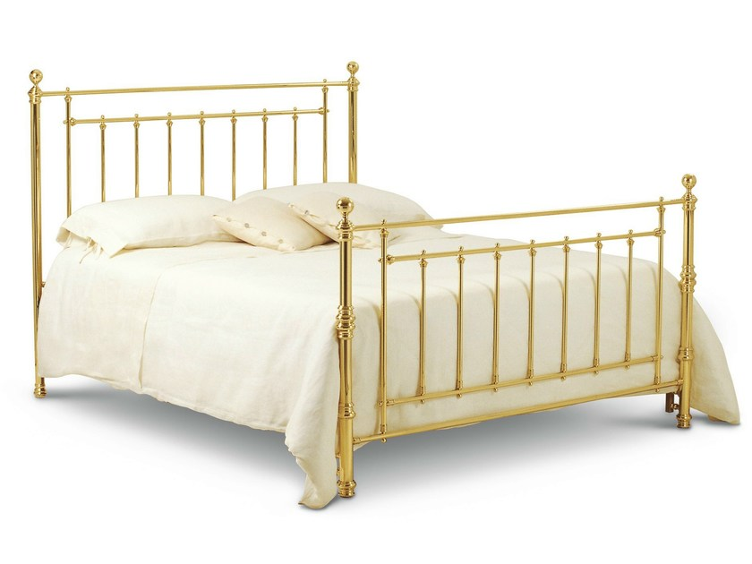 Brass double bed INGLESE | Brass bed - Cantori