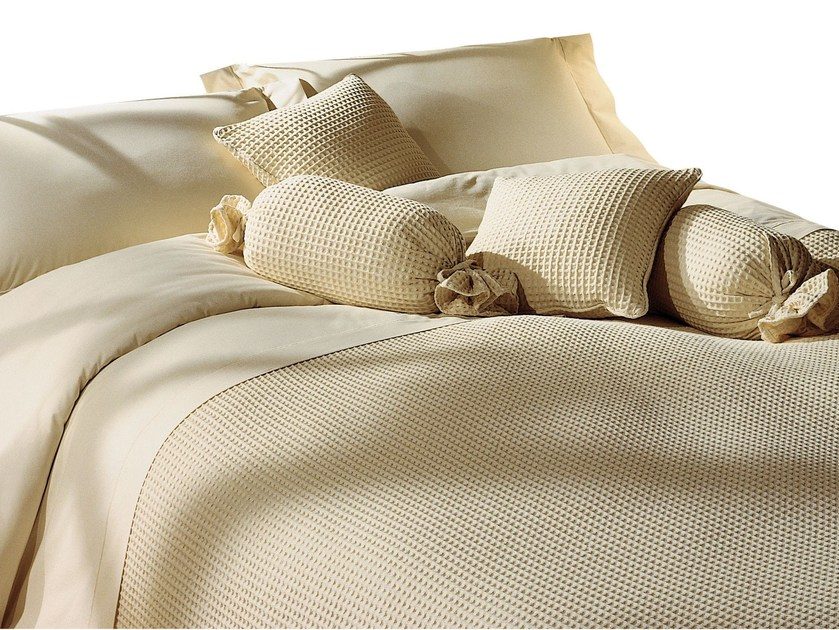 Solid-color cotton bedding set APONE - Cantori
