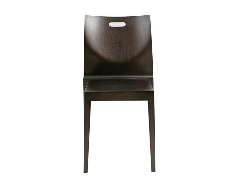 Stackable wooden chair CAPPL | Stackable chair - KFF