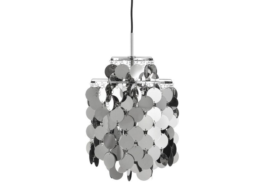 Metal pendant lamp FUN 2DA by Verpan