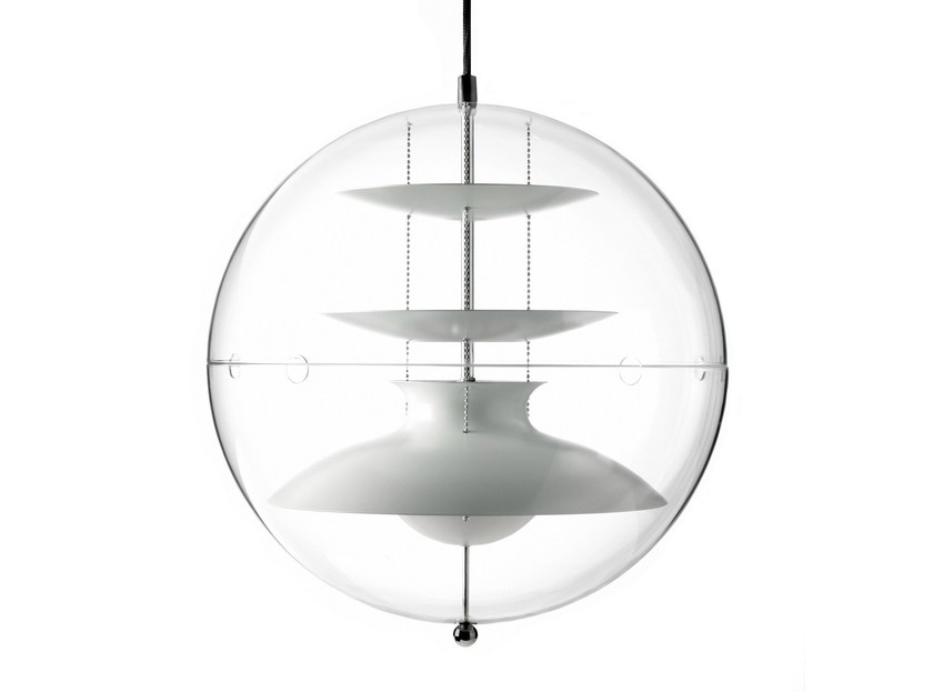 Acrylic pendant lamp PANTO - Verpan